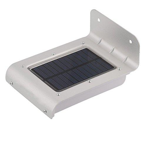16 LED Solar Power Motion Sensor Garden Security Lamp Outdoor Waterproof Light $6.90 shipped ebay U.S. seller