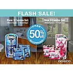 Dorco USA (Flash Sale): 50% Off Pace 3 Combo Set $8.12 and Shai 3 Combo Set $7.12 Plus Free Shipping