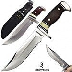 "Field Supply: Browning 12"" Cocobolo/Bone Alamo Fixed Blade - $25 Plus Free Shipping"