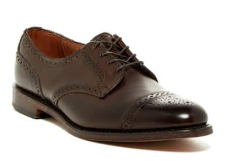 Nordstrom Rack: Allen Edmonds 6th Ave Cap Toe Derby - $150 Plus Free Shipping