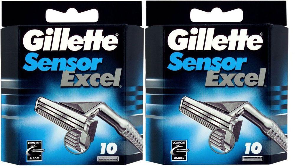 eBay: Gillette Sensor Excel Razor Blades (20 Cartridges) - $21.99 Plus Free Shipping