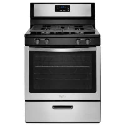 Home Depot: Whirlpool 5.1 cu. ft. Gas Range Stainless Steel - $418 Plus Free Shipping
