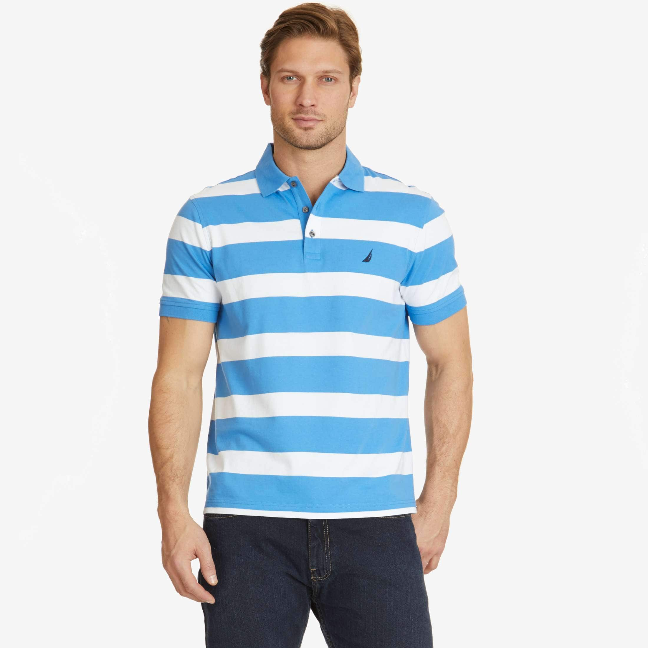 Nautica: Men's Classic Fit Striped Polos - $20.99 Plus Free Shipping