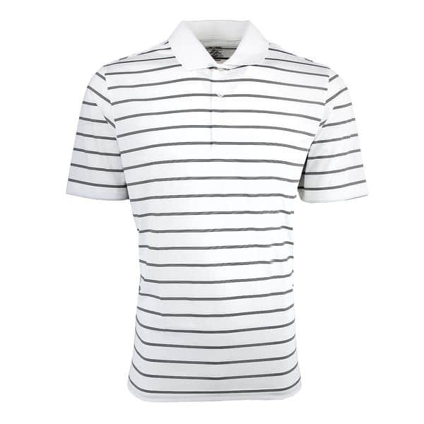 Proozy: adidas Men's puremotion 2-Color Stripe Polo - $14.99 Plus Free Shipping