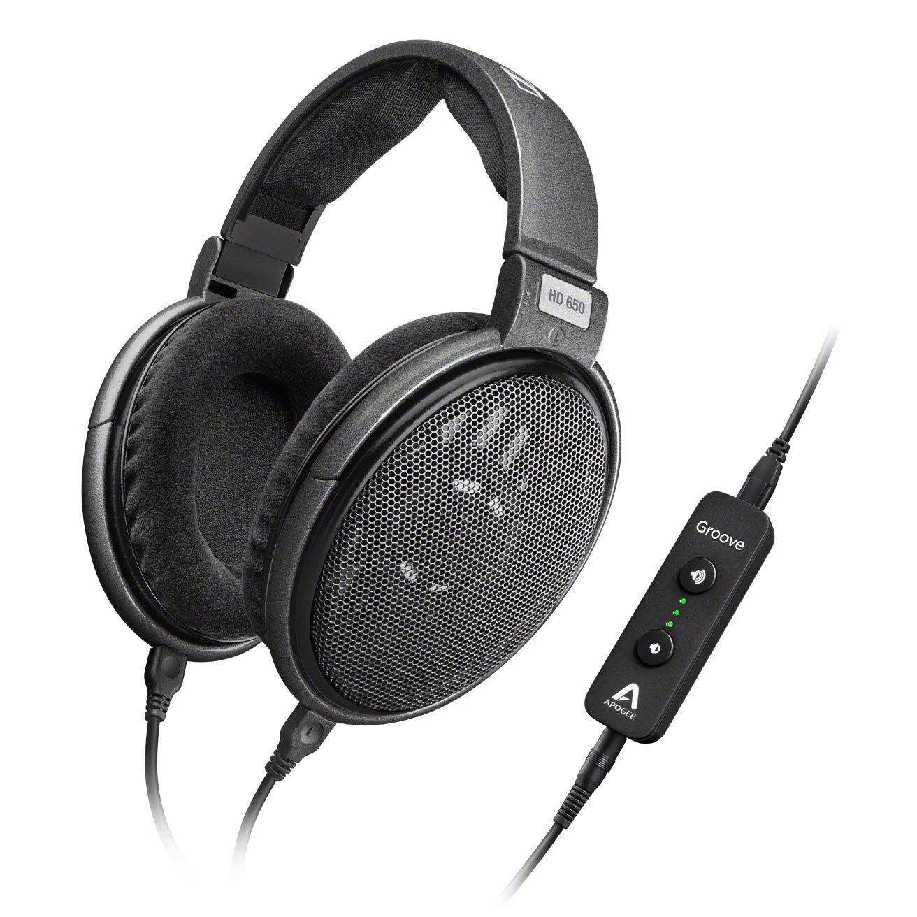Sennheiser HD 650 Headphones + Apogee Groove USB DAC Amp - $499.95 Plus Free Shipping