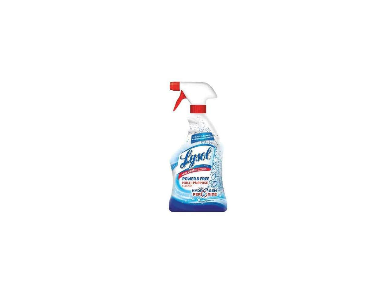 Newegg: 12-Pack LYSOL Multi-Cleaner 22 oz. Oxygen Splash ($4.33 each) - $51.99 Shipped