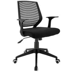 LexMod: Entrada Office Chair in Black - $63.37 Plus Free Shipping