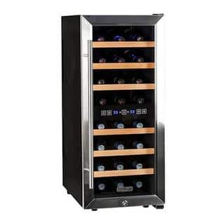 Livingdirect.com Via Sears: Koldfront TWR247ESS24 Bottle Free Standing Dual  Zone Wine Cooler