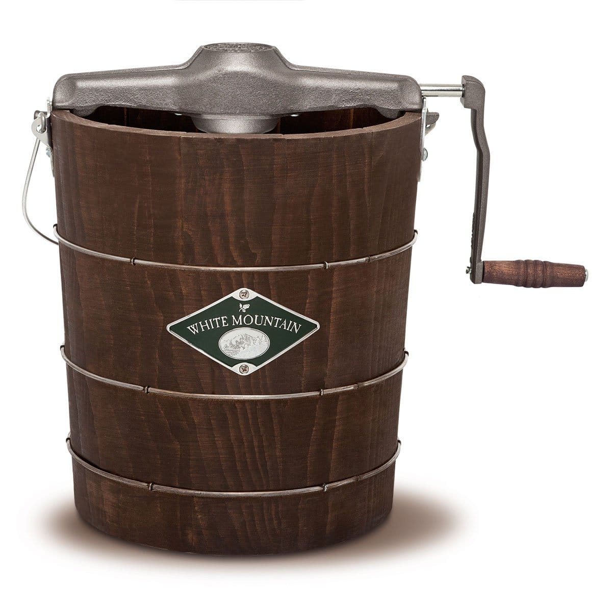 White Mountain Products: 4-Qt Hand Crank Ice Cream Maker - $99 Plus Free Shipping