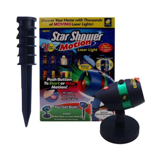eBay: Star Shower Motion Indoor/Outdoor Laser Light - $19.99 Plus Free Shipping