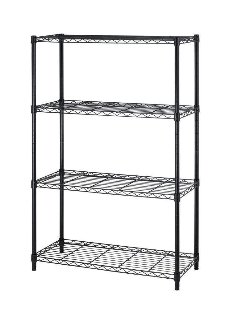 "eBay: 54"" 4 Tier Layer Shelf (Adjustable Steel Wire) Metal Shelving Rack - $24.99 Plus Free Shipping"
