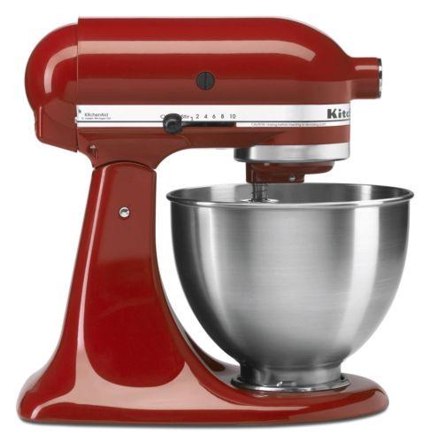 eBay: KitchenAid Stand Mixer 4.5 Qt. (KSM8) Various Colors - $179.99 Plus Free Shipping
