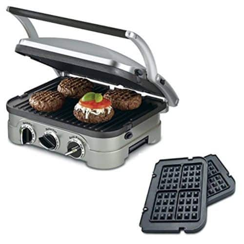 eBay: Refurbished Cuisinart GR-4N 5-in-1 Griddler with Waffle Plates - $51.99 Plus Free Shipping