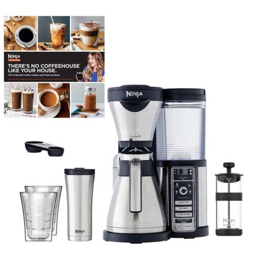 eBay: Refurbished Ninja Thermal Coffee Bar w/ Recipes + Travel Mug + Cups - $89.99 Plus Free Shipping