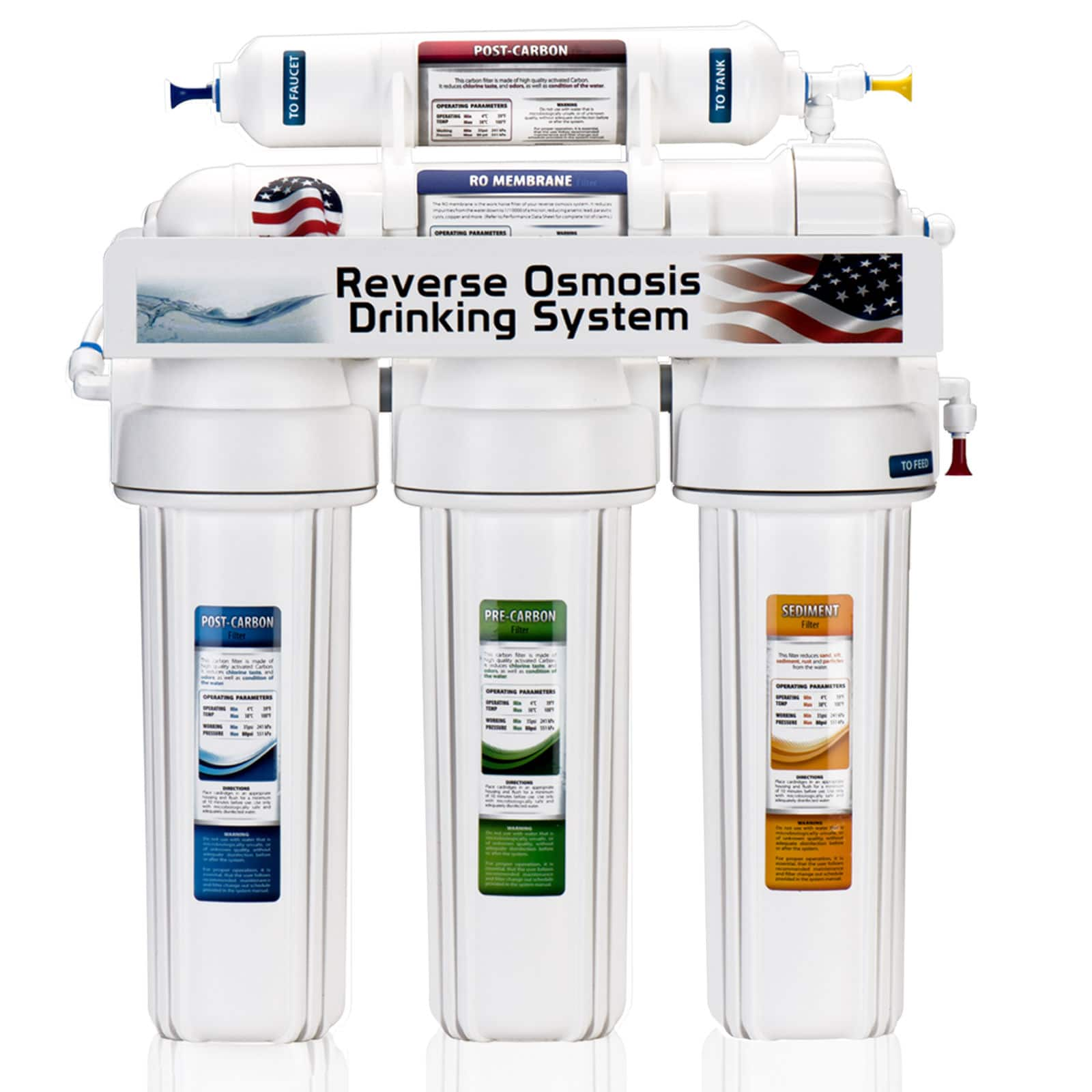 eBay: Express Water Reverse Osmosis Water Filtration System - $89.99 Plus Free Shipping