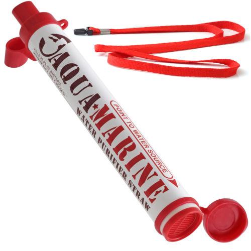 eBay: AquaMarine Purifier Straw Portable Water Filter - $11.95 Plus Free Shipping