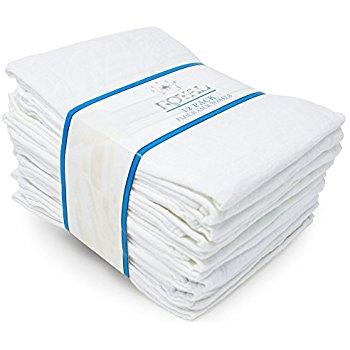 "Amazon: Royal 12-Pack Flour Sack Towels (31"" x 31"") Kitchen Towels - $9.97 Plus Free Shipping"