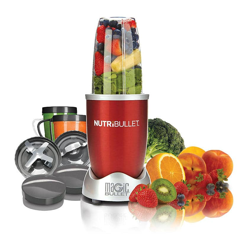 Kmart: NutriBullet NBR-1201R 8-Piece Nutrition Blender/Extractor - $63 Plus Free Shipping