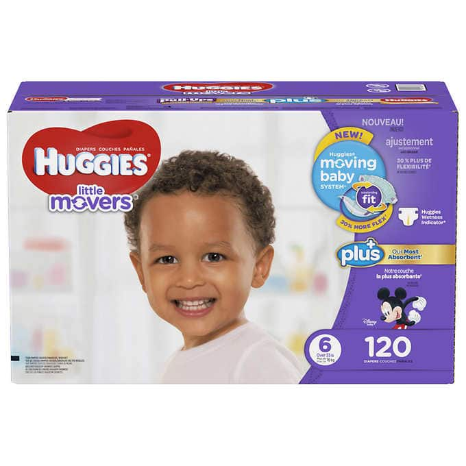 Costco Wholesale: Huggies Little Snugglers/Movers Plus - from $28.99 Plus Free Shipping