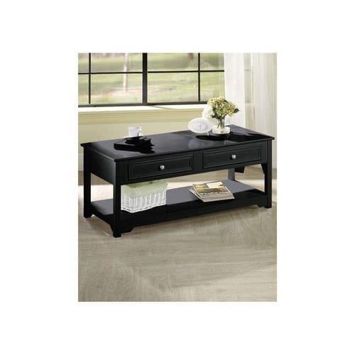 Home Depot : Home Decorators Collection Oxford Black 44 in. W 4-Door Coffee Table - $167.30 Plus Free Shipping