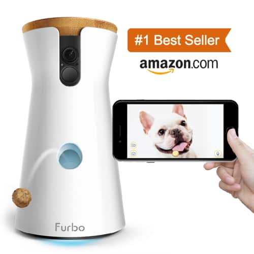 Furbo: 1080p Wide Angle Dog Camera and Treat Dispenser (WiFi) - $154 Plus Free Shipping