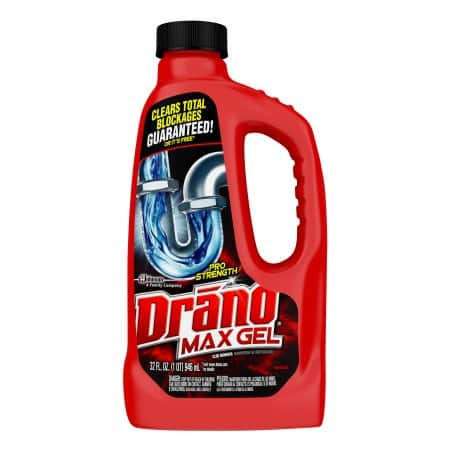 Walmart: Drano Max Gel Clog Remover (32 Ozs) - $3.88 Plus Free In-Store Pickup