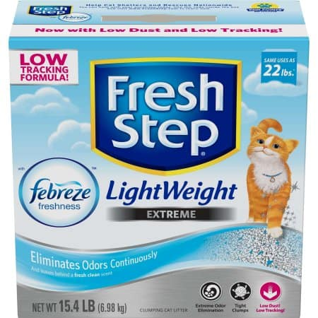 Walmart: Fresh Step Lightweight Extreme with Febreze Freshness, Clumping Cat Litter (15.4 lbs.) - $12.94 Plus Free In-Store Pickup