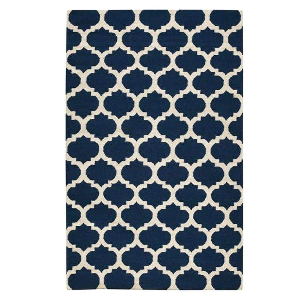 Home Depot: Allure Navy 7 ft. x 9 ft. Area Rug - $113.70 Plus Free Shipping