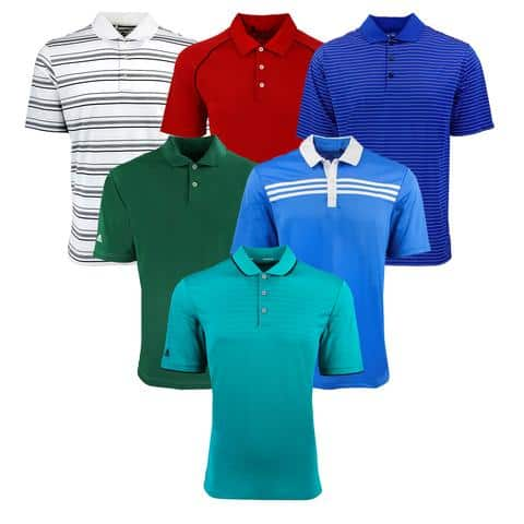 Proozy: adidas Men's Mystery Polo Shirt 2-Pack - $24.99 Plus Free Shipping