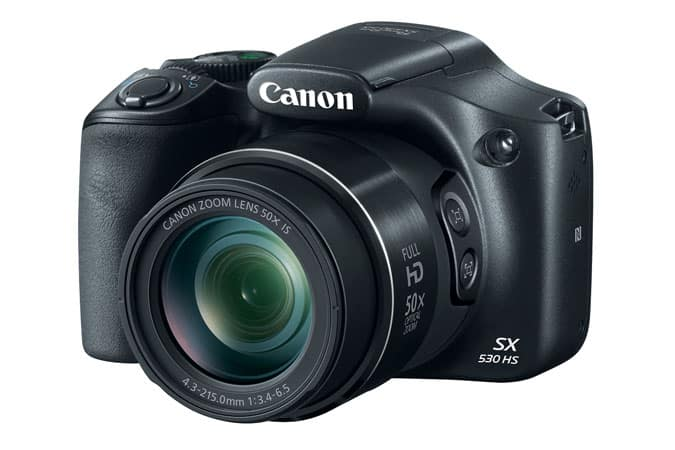 Canon PowerShot SX530 HS Refurbished $129.99 with Free Shipping 1-Year Warranty from Canon