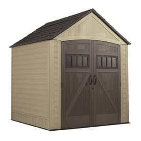 Rubbermaid Roughneck Storage Shed (7'x7') $489 +tax... Free in store pickup