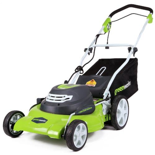 TARGET YMMV: GreenWorks Corded 12 Amp 20-Inch Lawn Mower $74.50