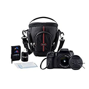 Targus DSLR Starter Kit Essential Camera Accessories, 7-piece Deluxe Set $7.81 + F/S w Prime