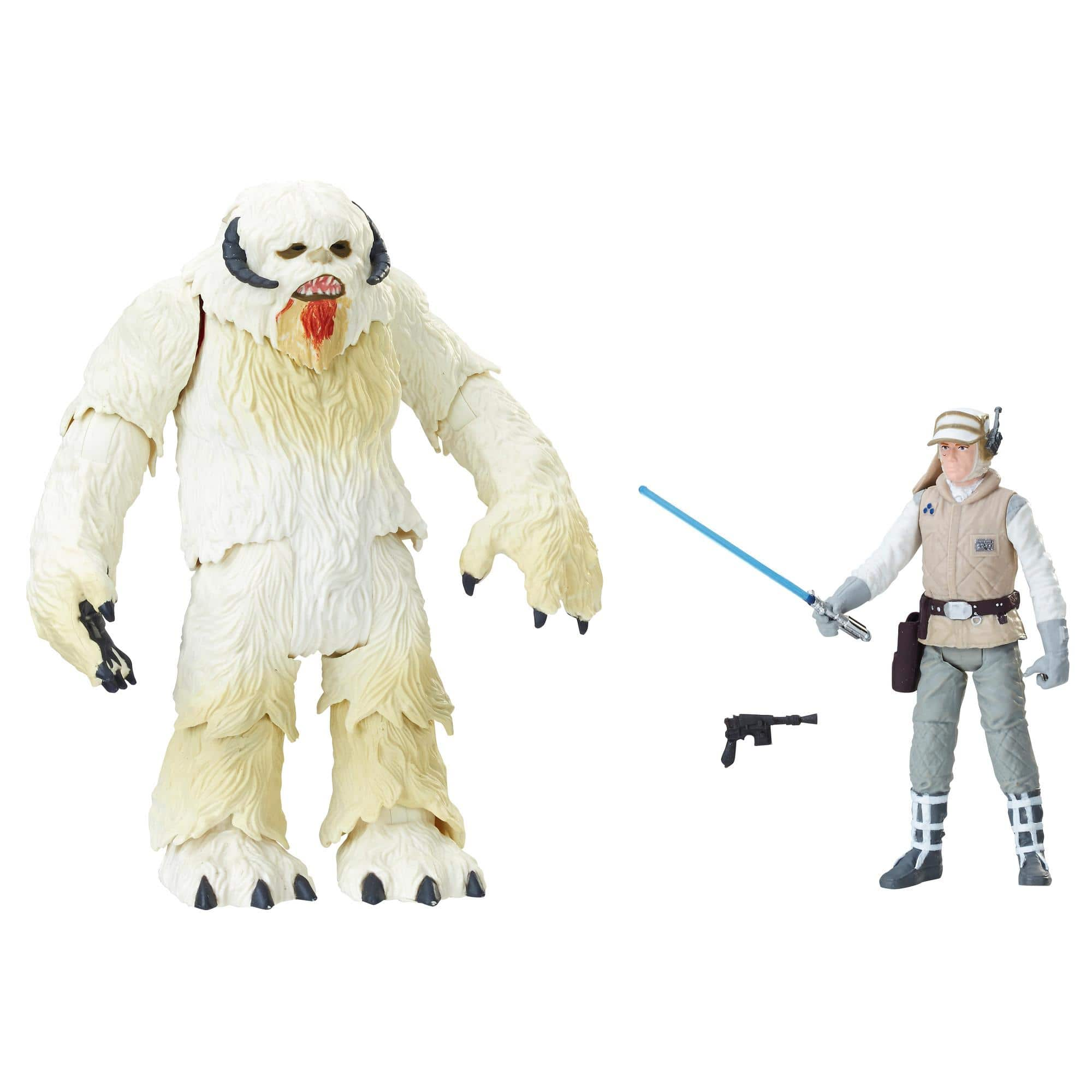 Star Wars Force Link 2.0 Hoth Wampa and Luke in stock $16 FS