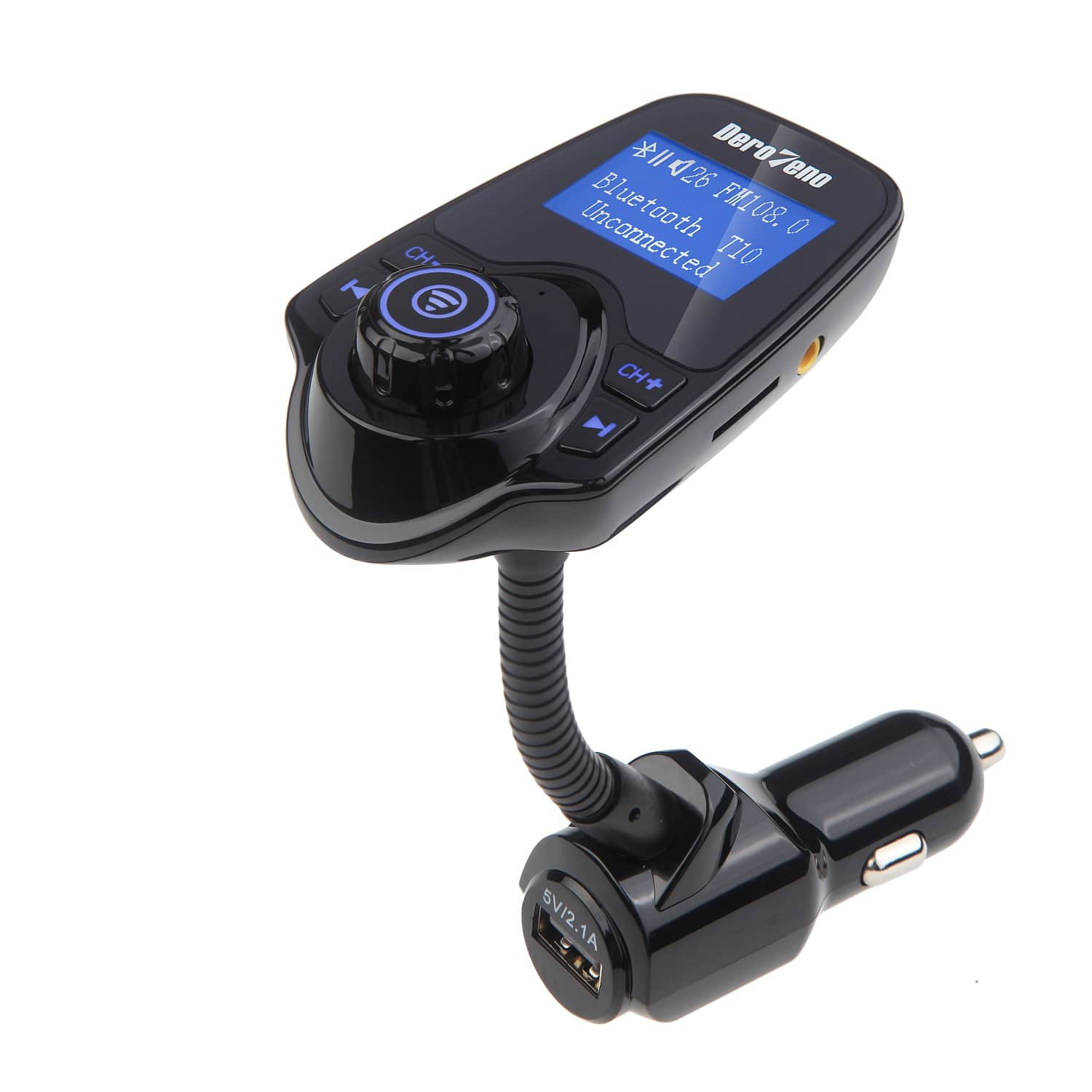 Walmart has DeroTeno Wireless In-Car Bluetooth FM Transmitter kit w/USB charger for $9 FS $8.99