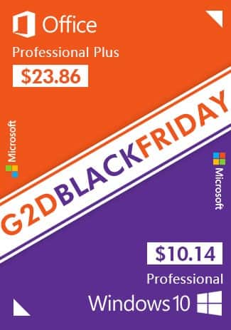 G2deal has Black Friday Promotion! 25% off  for all software $10