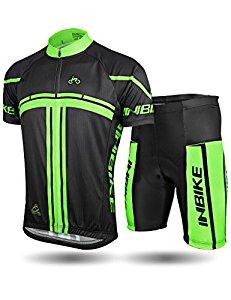 INBIKE Men's Short Sleeve Cycling Jersey Set $22 AC @Amazon