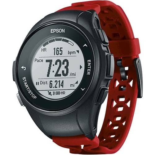 Epson ProSense 57 GPS Running Watch with Heart Rate $ 130