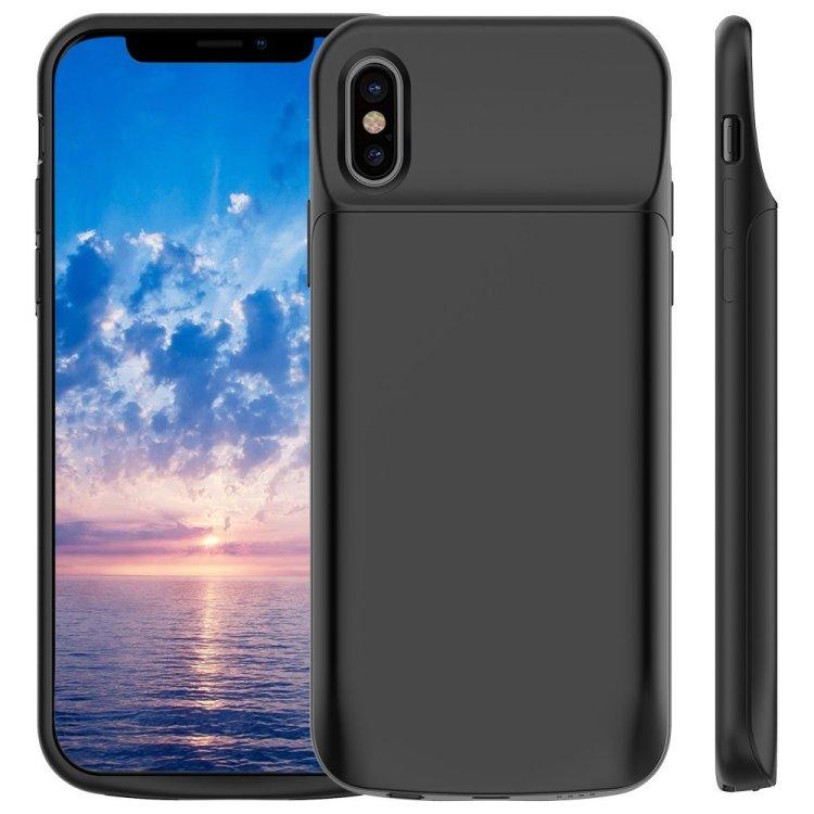 VPROOF iPhone X External Battery Charger Case, 3600mAh $18.99, 5000mAh $18.95 @Amazon