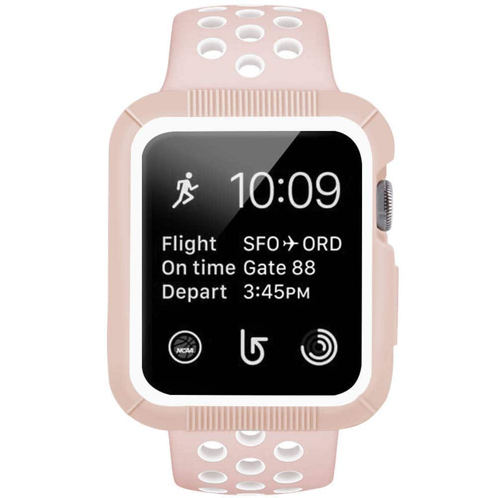 separation shoes ea60e 22d57 BRG Apple Watch Nike Band with protective case 38,42mm S1-S3 $4.99 ...