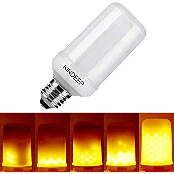Kindeep LED Flame Light Bulb - $8.99