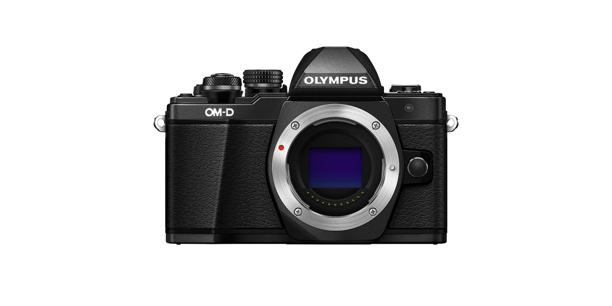 Olympus EM10 Mark II $299 Reconditioned BLACK  Body Only