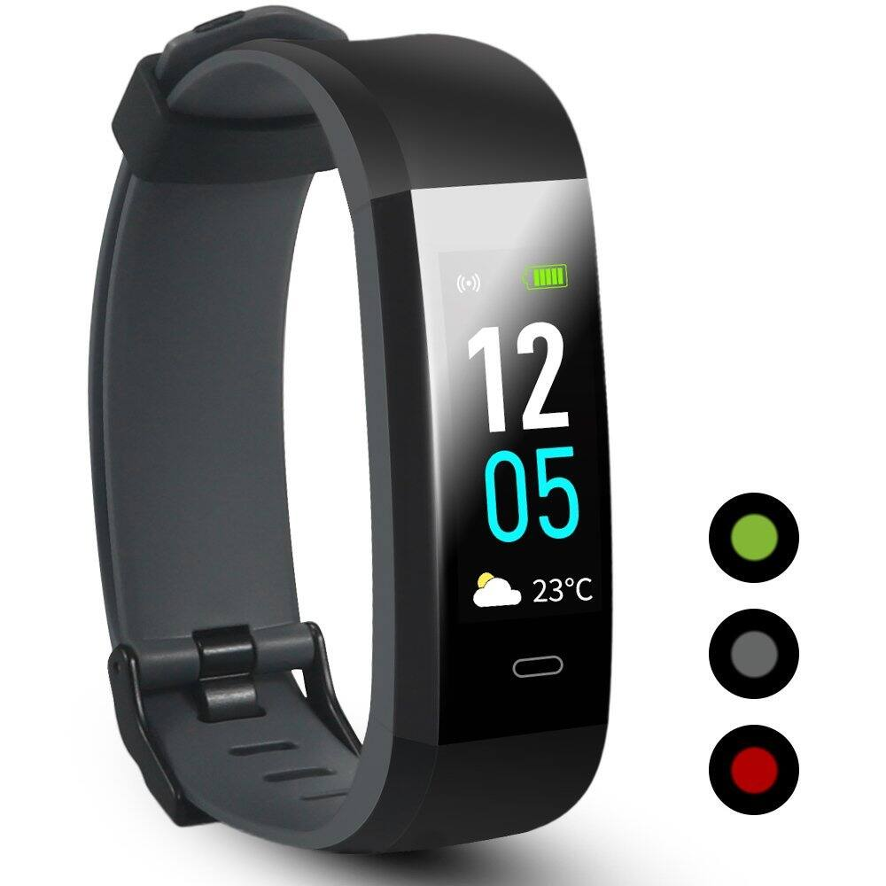 Fitness Tracker, IP68 Waterproof Smart Watch with Heart Rate Monitor $24.99