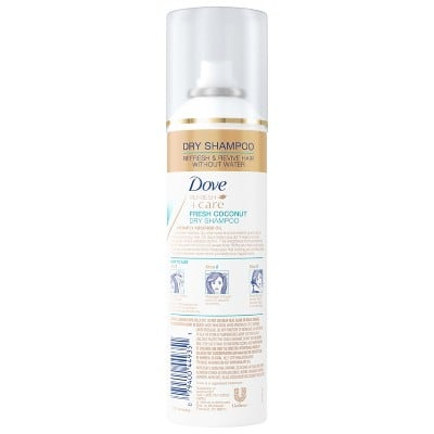 16 bottles of Dove Dry Shampoo for $29.95 and get back $20 in Target GC!!!