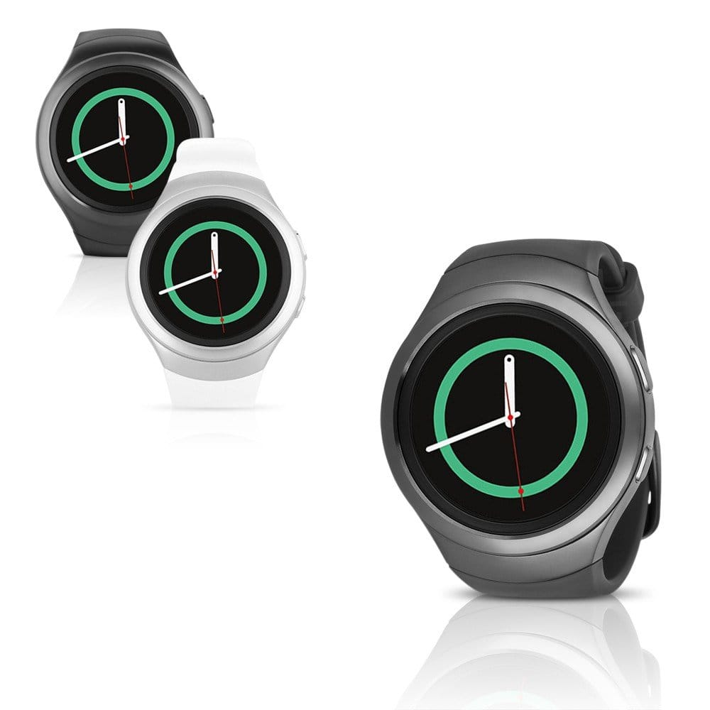 Samsung Gear S2 (T-Mobile) Smartwatch w/ Rubber Band (Refurbished) $99.95