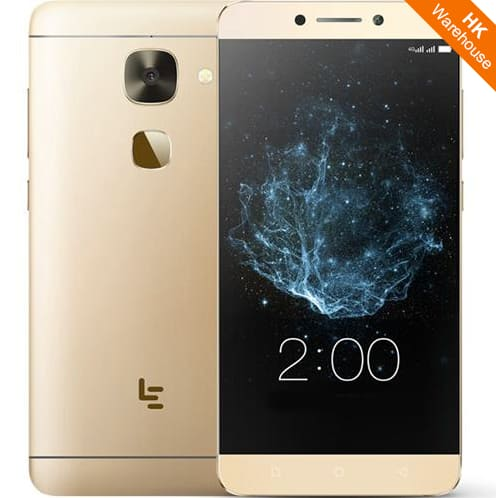 """$113 Gold LeEco Le S3 X626 5.5"""" 4GB RAM 32GB ROM 21.0MP Touch ID Dual SIM 4G LTE Smartphone $112.99"""