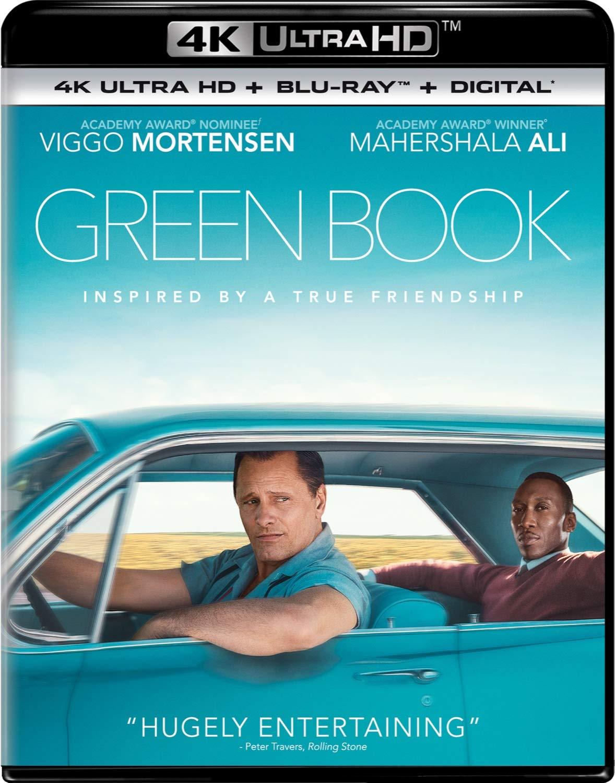 Green Book 4k UHD Blu Ray $12.24, Amazon.com