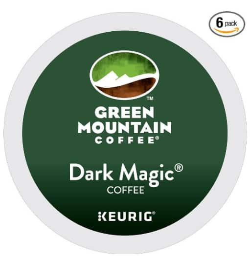 Green Mountain Coffee Dark Magic Keurig Single-Serve K-Cup Pods 72 Count $19.50 or $22.5 with SS Amazon *YMMV*