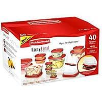 Kmart Deal: Rubbermaid 40-Piece TakeAlongs Storage Containers & Lids $9.99