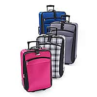 Herbergers (Bon-Ton) Deal: Any Size Luggage Sale Only $19.97 + Free Shipping @ Herbergers